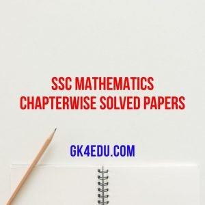 SSC Mathematics Chapterwise Solved Papers