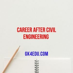 career after civil engineering